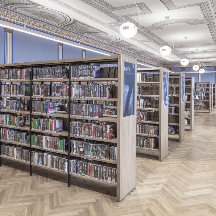 Knihovna písek